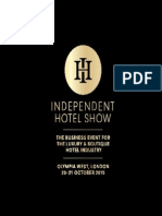 Independent Hotel Show Sales Brochure