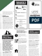 UFPE Livre do Abandono e Crueldade