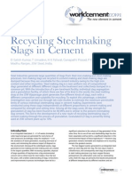 Steel Making Slag as Cemintious Material -JSW Steel