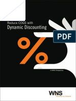 Reduce COGS with Dynamic Discounting