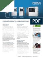 Impresoras Fortus