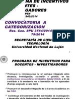Incentivos - Convocatoria 2014 - 9-12-2014
