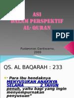 Asi Dalam Perspektif Al- Quran