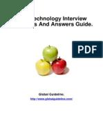 GSM Technology Job Interview Preparation Guide
