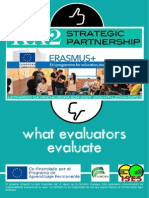 what evaluators evaluate