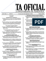 Gaceta oficial Nº 40.492 08-09-2014
