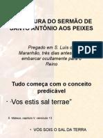 Sermão de Santo Antônio Aos Peixes 2014