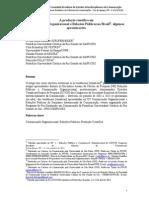 A produção científica em Comunicação Organizacional e Relações Públicas no Brasil