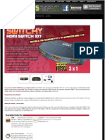 Switch HDMI 1.3b Switchy 4GEEK MINISW3X1CG-P Polybag