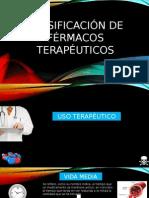 Clasificación de Fármacos Con Fines Terapeuticos