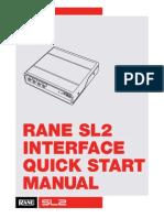 Rane SL2 QSG for Serato DJ