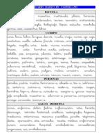 Vocabulario Basico CAST