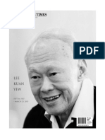 Mr Lee Kuan Yew - Straits Times Special Edition 23 March 2015