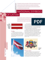 National Symbols of Latvia 2007