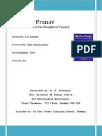 My Dear Pranav