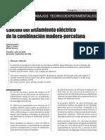Calculo de Aislamiento Electrico