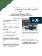 Diseño de un bote potenciado por energía solar para uso en el Parque Recreacional Jipiro de la ciudad de Loja
