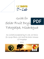 guide for solar fruit drying in totogalpa, nicaragua