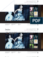 Nieman Marcus Website Re-design