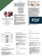 Capacitacion Manejo de Extintores Personal Maxi Santa Isabel 2015