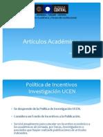 Publicación de Artículos Académicos_Taller 14 de Mayo