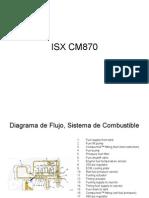 Motosres ISX Diagrama de Flujo, Sistema de Combustible