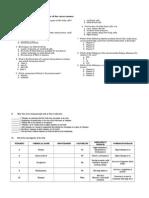 Vitamins Key to Correction Biochemistry Final Exams