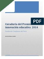 Curaduría Innovación Educativa 2014