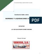 Material de Nominas y Liquidaciones