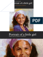 Learn to paint a portrait -Little Girl English