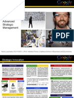 Strategic Innovation Report - Google