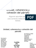 unidadcoherenciaycohesion-140926151129-phpapp01