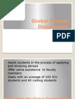 global studies department