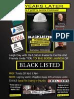 Blacklist Book Leaflet