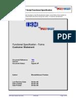 SAP Script Customer Open Items