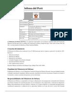 Ministerio de Defensa Del Perú
