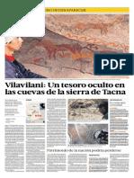 Pinturas rupestres de Vilavilani