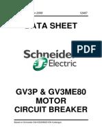 Schneider GV3 Motor Circuit Breaker
