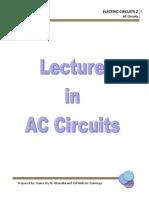 Lecture in AC Ckts