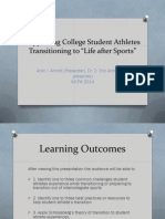 supporting college student athletes transitioning to
