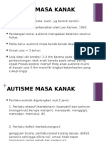 Autisme Masa Kanak