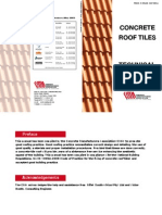 Concrete Roof Tile Manual