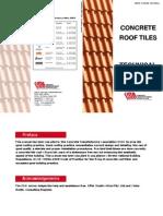 Concrete Roof Tile Manual Roof Concrete