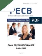 Ebios Exam Preparation Guide