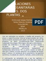 Instalaciones Hidrosanitarias de Vis Dos Plantas