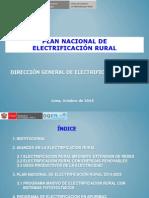 Plan Nacional de Electrificacion Rural