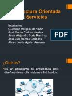 2.4 Arquitectura Orientada a Servicios