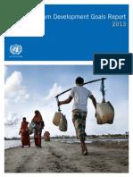 Millenium development Report 2013 English