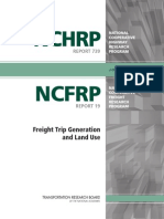 Freight Trip Generation and Land Use