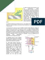 Efecto fotoeléctrico - Radiación del cuerpo negro